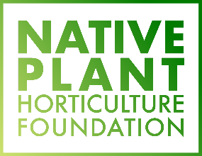 Native Plant Horticulture Foundation Oak Sponsor Native Plant Show